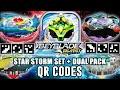 Download QR CODES SATOMB,GENESIS VALTRYEK ,STAR STORM ARENA E X2Y2 DUAL PACK - BEYBLADE BURST APP Video