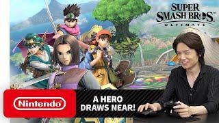 """Download Super Smash Bros. Ultimate – Mr. Sakurai Presents """"Hero"""" Video"""