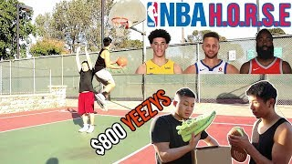 Download CRAZY 1v1 NBA H.O.R.S.E FOR $800 RARE YEEZYS!! Video