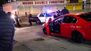 Download COPS SWARM LA CAR MEETS! *GUNS DRAWN* Video