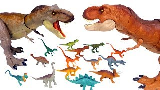 Download Jurassic World Legacy Collection Mini Dino 15 Pack Figures & Big Figures, schleich dinosaur toys Video