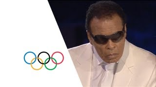 Download Muhammad Ali Makes A Special Appearance At The Opening Ceremony - London 2012 Olympics Video