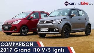 Download Hyundai Grand i10 Vs Maruti Suzuki Ignis - NDTV CarAndBike Video