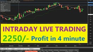 Download Intraday Live Trading with Profit of 9% within 4 minute Video