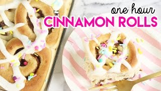 Download How to Make One Hour Cinnamon Rolls! Video