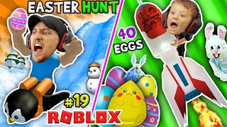 Download ROBLOX EGG HUNT 2017! 40 LOST EGGS! (FGTEEV Happy Easter Bunny Challenge Game) Video