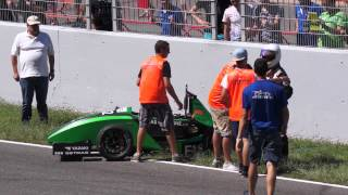 Download FS Spain 2015 Formula Student Electric Car crash Video