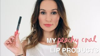 Download Favorite Peachy Coral Lip Products / ttsandra Video