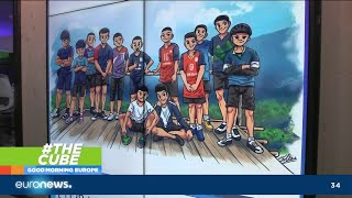 Download #TheCube | Race to find 12 missing boys and their football coach trapped in Thai cave Video