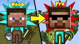 Download Ways how ANYONE can Transform from NOOB to PRO in Minecraft Video