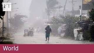 Download South-east Asia braces for Super Typhoon Mangkhut Video