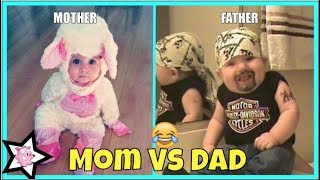 Download Mom Vs Dad Baby Care || Differences Between Mom And Dad Parenting Video