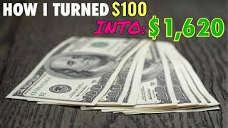 Download How i Turned $100 Into $1,680 - Opportunities are ALWAYS there Video