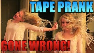 Download CRAZY TAPE PRANK GONE WRONG !!! - PRANKS ON GIRLFRIEND Video