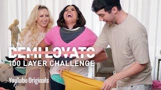 Download Demi Lovato's 100 Layer Challenge Video