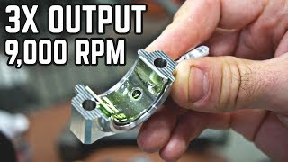 Download 20HP, 9,000 RPM Engine Build! 88MPH Kart Pt. 3 Video