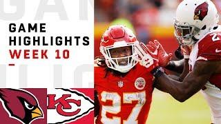 Download Cardinals vs. Chiefs Week 10 Highlights | NFL 2018 Video