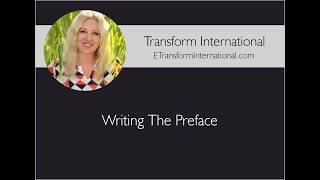 Download Writing The Preface Video