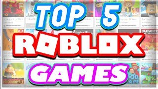 Download Top 5 BEST Roblox Games EVER CREATED .. Video