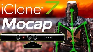 Download iClone 7 Motion Capture - Kinect - tutorial Video