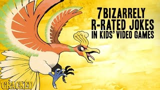 Download 7 Bizarrely R-Rated Jokes In Kids' Video Games Video