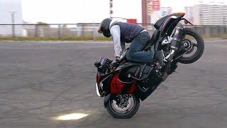 Download Suzuki Hayabusa Stunt Video