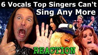 Download 6 Hardest Vocals Top Singers Can't Sing Live Anymore - Vocal Coach Ken Tamplin Reacts Video