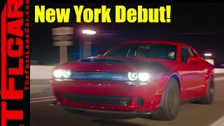 Download Live from New York! 2018 Dodge Demon Reveal Event! Video
