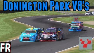 Download What If... V8 Supercars Raced At Donington Park ? (Rfactor 2) Video