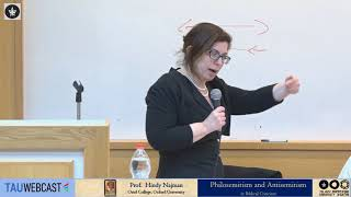 Download Philosemitism and Antisemitism in Biblical Criticism: Prof. Hindy Najman respond Video