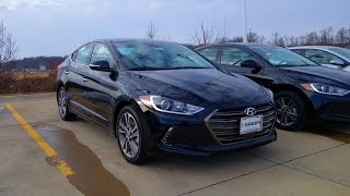 Download 2017 Hyundai Elantra Limited Walkaround & Interior Tour Video