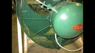 Download Vintage Ilg Industrial Fan - 42″ Model 423 - Repaired and balanced! Video