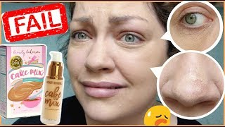 Download TOTAL FOUNDATION FAIL! | Let's Test!: Beauty Bakerie Cake Mix Foundation & Cake Face Concealer Video