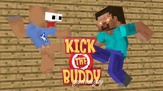 Download Monster School : KICK THE BUDDY CHALLENGE - Minecraft Animation Video