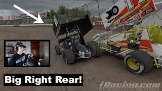 Download This Slider Was Not Clear! (iRacing 410's at Eldora) Video