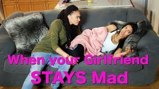 Download When your Girlfriend STAYS Mad!! Video