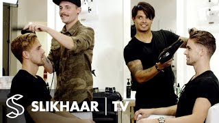 Download The Battle | Men's hairstyling in 5 minutes | Hairstyle inspiration for Men Video