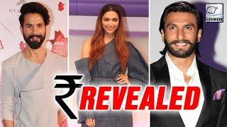Download Padmavati Cast Payment Revealed  Shahid Kapoor, Deepika Padukone, Ranveer Singh   LehrenTV Video