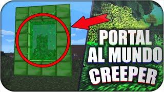 Download COMO HACER PORTAL AL MUNDO CREEPER EN MINECRAFT PE 0.15.0 SIN MODS   TRUCOS MINECRAFT PE   PORTAL! Video