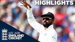 Download Kohli Runs Out Root To Spark England Collapse | England v India 1st Test Day 1 2018 - Highlights Video