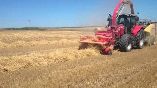 Download Ensilage de paille en big baller par l ' Eta Herve Video