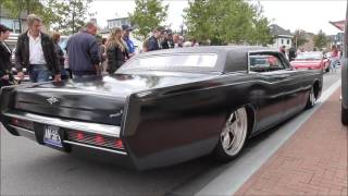 Download Very Low Lincoln Continental 7.57L V8 Sound and Driving Away Video