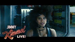 Download Zazie Beetz on Playing Domino in Deadpool 2 Video