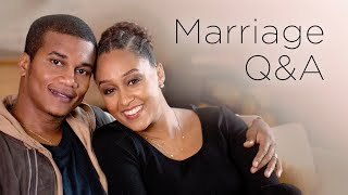 Download Tia Mowry and Cory Hardrict Marriage Q&A   Quick Fix Video
