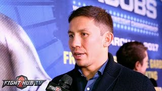 Download Gennady Golovkin reacts to Canelo vs. Chavez Jr. ; Feels Jacobs boxing IQ in different class Video