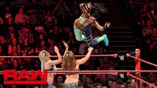 Download Bayley vs. Alexa Bliss vs. Mickie James - Money in the Bank Qualifying Match: Raw, May 14, 2018 Video