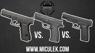 Download Glock vs M&P vs XD comparison with world champion shooter, Jerry Miculek Video