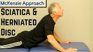 Download Absolute Best Exercise for Sciatica & Herniated Disc- McKenzie Approach. Video
