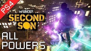 Download Infamous: Second Son ★ All Powers Showcase / All Powers and Abilities 【1080p HD】 Video