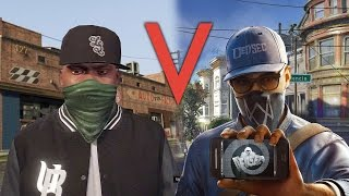 Download Watch Dogs 2 vs GTA 5: How Are Their Worlds Different? Video
